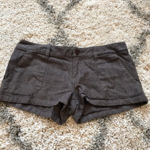 Volcom Shorts Size 5 Brown